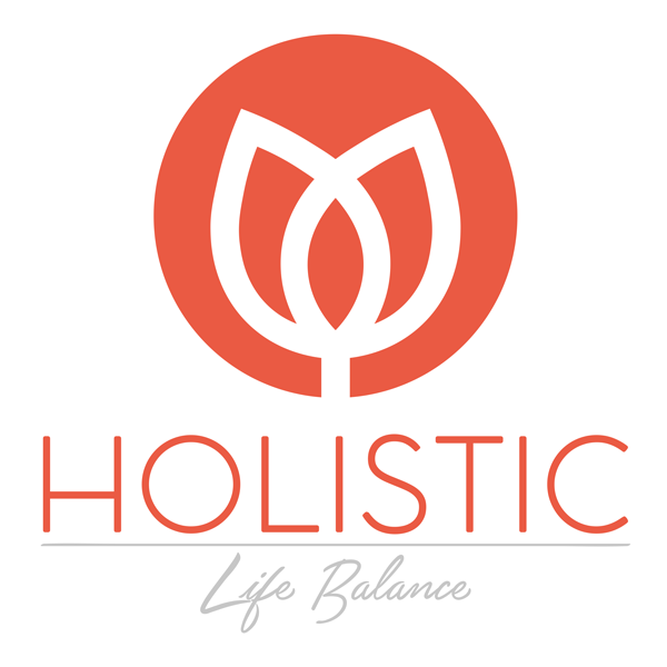 Holistic Life Balance logo using Just Optimise web dev services