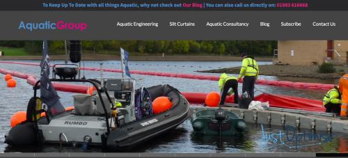 Aquatic Engineering Website Optimisation Services From JustOptimise